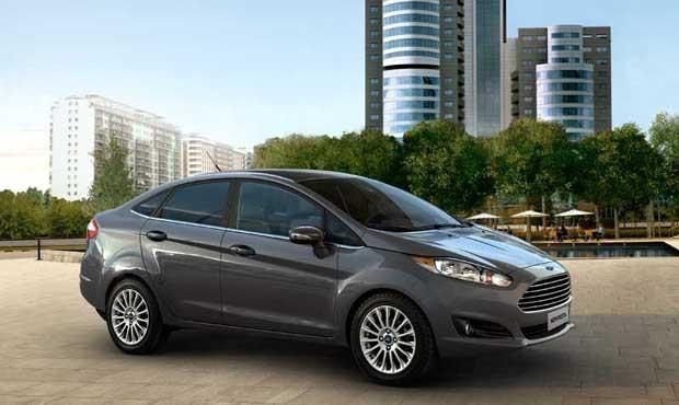Ford New Fiesta Sedan 2016 (Foto: Divulgação)