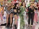 Show das poderosas! Anitta, Preta Gil e Gaby Amarantos arrasam no Esquenta!