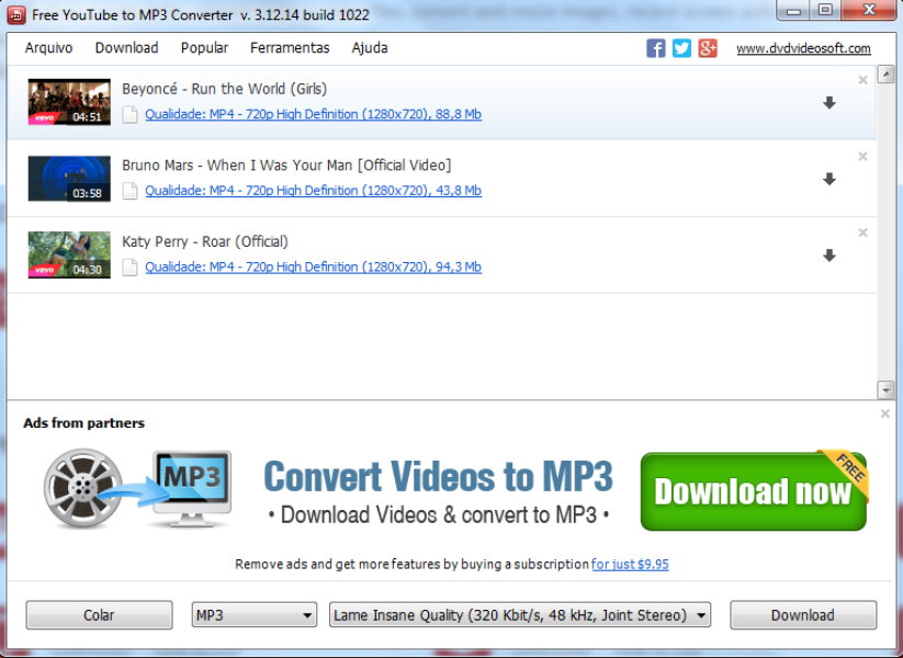 download convert youtube video to mp3 free