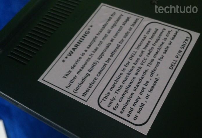 Dell Chromebook 11 tem respostas rápidas, mas peca pelas limitações do sistema Chrome OS (Foto: Fabrício Vitorino/TechTudo)