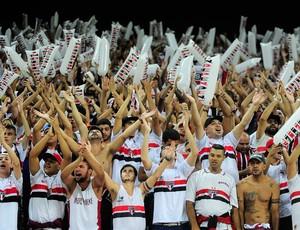 Torcida do São Paulo x Corinthians, Libertadores (Foto: Marcos Ribolli)