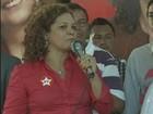 Fátima Cleide é candidata pelo Partido dos Trabalhadores (PT). (Foto: Reprodução/TV RO)