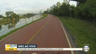 Ciclistas reclamam da falta de acessos na ciclovia da Marginal Pinheiros