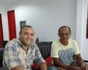 Pai de Marcelinho Paraíba faz visita ao Renatão; filho pode ir para a Raposa