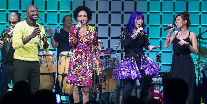 Música Boa Ao Vivo - Baby do Brasil, Pitty e Teresa Cristina (Foto: divulgação)