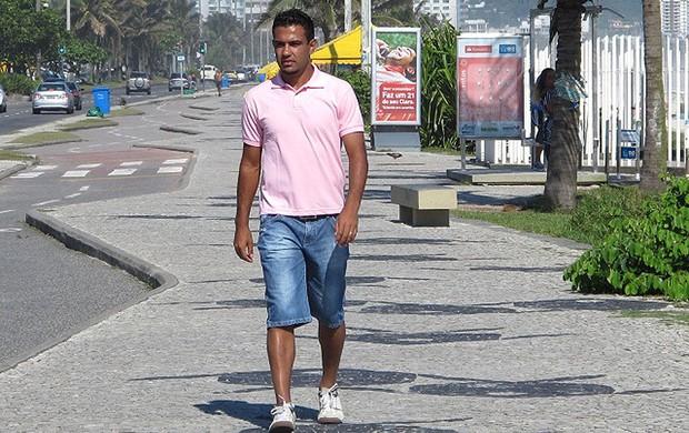 Renato Santos zagueiro do Flamengo (Foto: Richard Souza / Globoesporte.com)