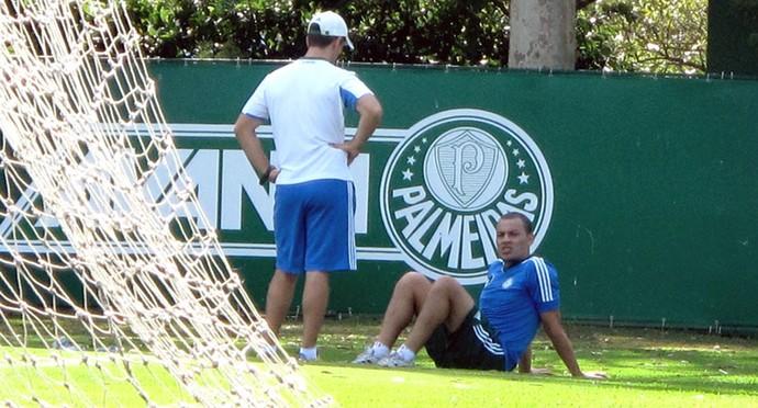 Léo Gago treino do Palmeiras (Foto: Rodrigo Faber)