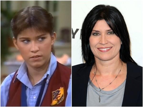 Nancy McKeon em 1981 e 2014 (Foto: Divulgação/Getty Images)