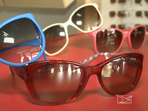 JMTV1 exibiu matéria de como escolher melhor modelo de óculos (Foto: Reprodução/TV Mirante)