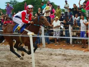 'Grande Corrida de Cavalo' ocorre em Mucajaí (Foto: Careca/ Divulgação)