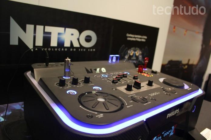 Unidade principal do NX9, da Philips (Foto: Tassia Moretz/TechTudo)
