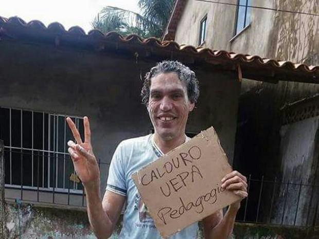 Geonne sonhava em cursar pedagogia em Salvaterra (Foto: (Dayse Freitas /Arquivo pessoal))
