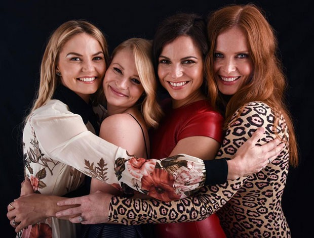 Jennifer Morrison, Emilie de Ravin, Lana Parrilla e Rebecca Mader (Foto: Reprodução)