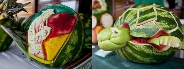Arte em comida na Expointer (Foto: Alina Souza/Divulgação/Expointer)