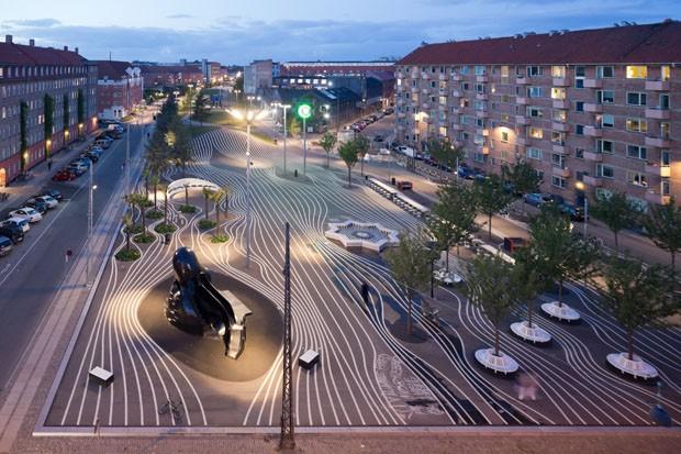 Exposicao traz a obra do arquiteto Bjarke Ingels (Foto: Iwan Baan / divulgação)