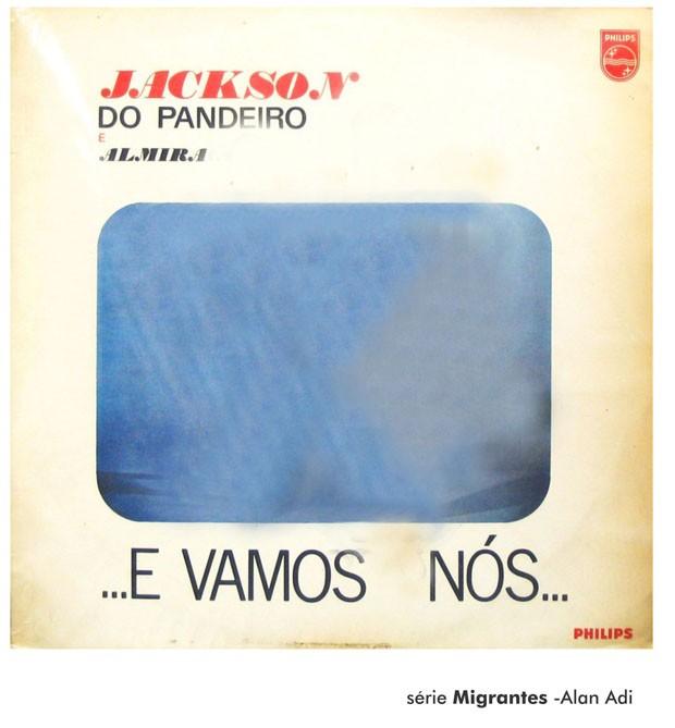 Obra de Alan Adi, Montagem de Capas (Foto: Divulgação)