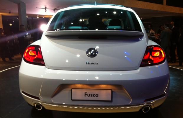 Novo Volkswagen Fusca (Foto: Luciana de Oliveira / G1)