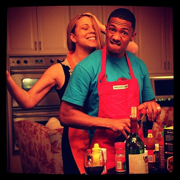 Mariah Carey e Nick Cannon (Foto: Instagram)