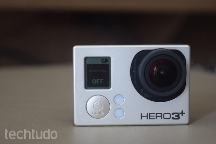 GoPro é, sem dúvida, uma câmera muito resistente (Foto: Juliana Pixinine/TechTudo)