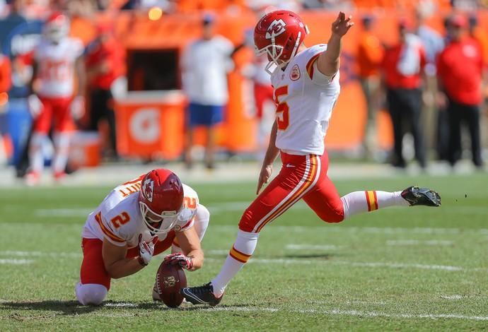 NFL Cairo Santos Kansas City Chiefs  (Foto: Agência Getty Images)