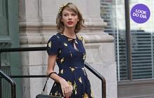 Look do dia: Taylor Swift faz o estilo bonequinha em Nova York