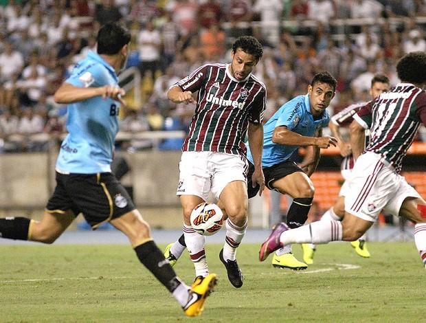 Na segunda rodada, o Grêmio fez 3 a 0 sobre o Fluminense (Foto: Nelson Perez / Fluminense. F.C.)