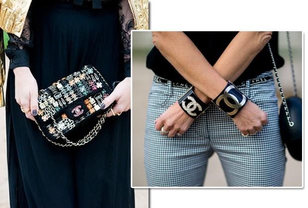 A Chanel também entra na lista de marcas da vez quando o assunto é logomania (Foto: Imaxtree)
