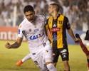 Santistas comemoram vitória na Libertadores e já miram Palmeiras