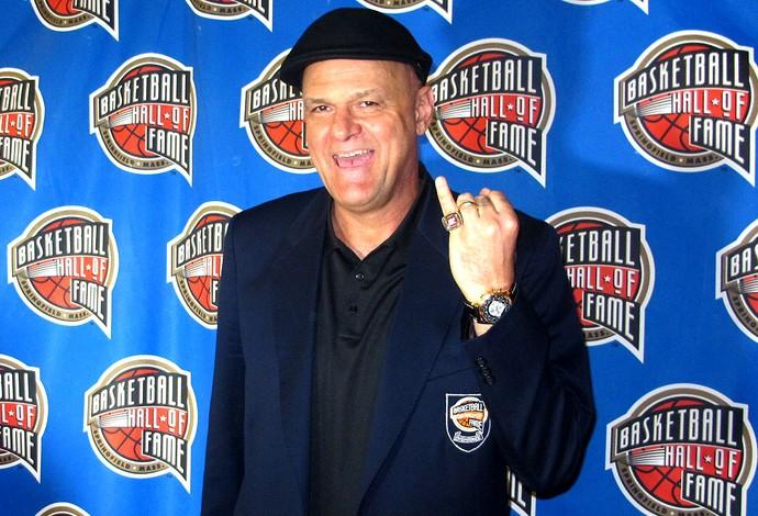 Oscar Schmidt halla da fama NBA (Foto: Gabriel Fricke)