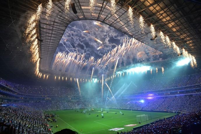 Estadio BBVA de Rayados - Monterrey x Benfica (Foto: EFE)