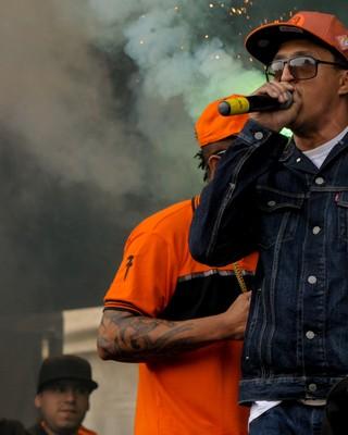 Racionais MC's (Foto: Flávio Moraes/G1)