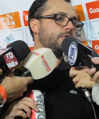 Márcio Bittencourt Fluminense Refrigerante Duba (Foto: Richard Souza)