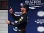 """Em 2º, Ricciardo vê chance de pódio e é elogiado por chefe: """"Acertou tudo"""""""