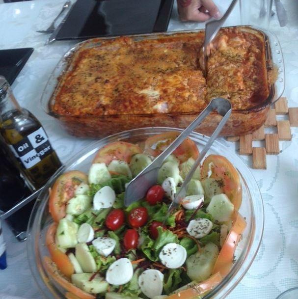 Gretchen mostra em rede social o almoço preparado pela nora  (Foto: Reprodução_Instagram)