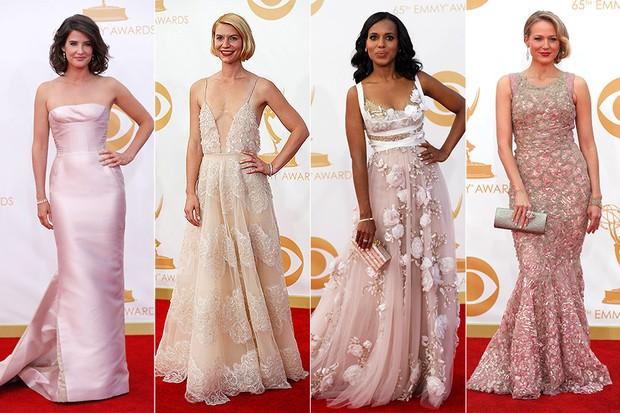 Tendências de moda no Emmy - Colbie Smulders, Claire Danes, Kerry Washington e Jewel (Foto: Reuters | AFP )