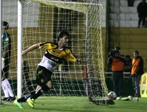 gol Criciúma x Figueirense (Foto: Fernando Ribeiro/Criciúma E. C.)