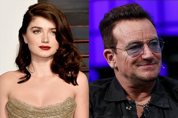 Eve Hawson e Bono Vox (Foto: Getty Images)