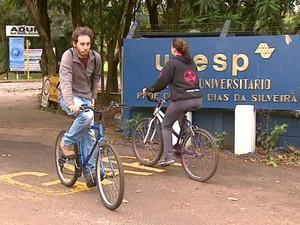 Estudantes relatam aumento no número de roubos e furtos na região (Foto: Reginaldo dos Santos/EPTV)