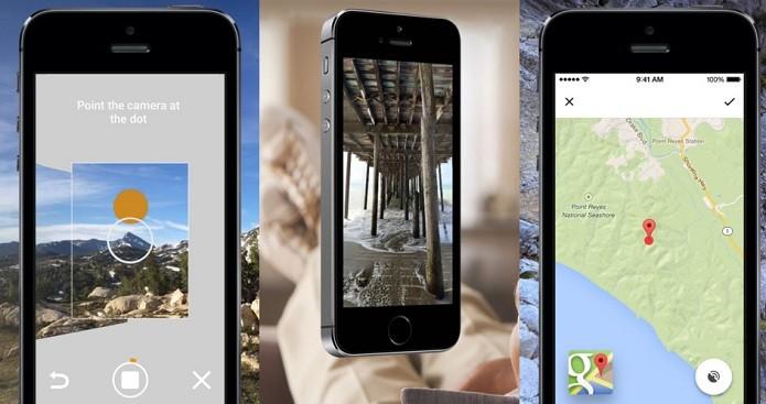 Crie imagens em 360 graus com o Photo Sphere Camera (Foto: Divulgação/AppStore)