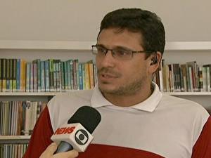professor e coordenador de um curso pré-vestibular do Rio de Janeiro Renato Pellizzari (Foto: Reprodução)