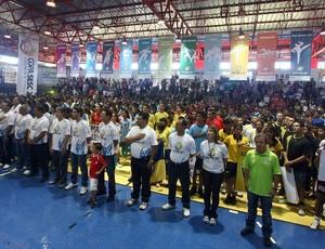 Abertura da 31ª Copa SESC, em Goiânia (Foto: Divulgação/Itamar Sandoval)