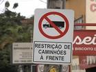 Lei proíbe tráfego de caminhões acima de 7 t no centro de Goiânia