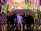Bailarino de 'Amor & Sexo' se emociona após nu no palco: 'Chorei'
