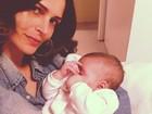 Fernanda Motta posa com a filha: 'Amor da minha vida'