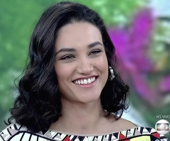 Débora Nascimento revela planos para engravidar em três anos (Foto: TV Globo)