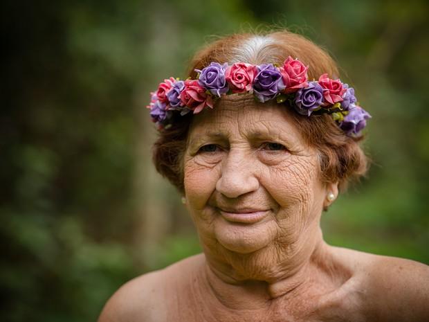 'Nunca pensei na doença', disse Aurora Alves de Oliveira, moradora de Limeira (Foto: Natália Alves/Arquivo pessoal)