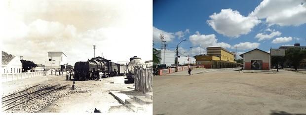 Estação ferroviária de Caruaru (Foto: Acervo/Fafica/Lafaete Vaz/G1)