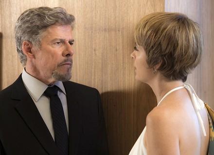 Tião impõe condição para se separar de Helô: 'A Letícia fica comigo!'