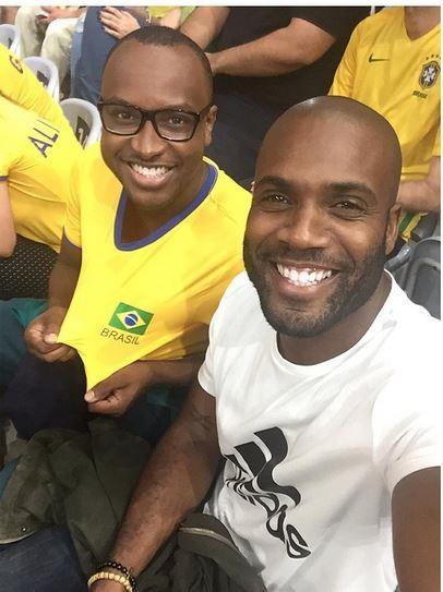 Rafael Zulu e Thiaguinho (Foto: reprodução/instagram)