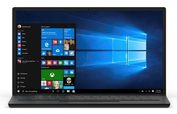 O Windows 10 estará disponível para todos no dia 29 de julho (Foto: Divulgação/Microsoft)  (Foto: O Windows 10 estará disponível para todos no dia 29 de julho (Foto: Divulgação/Microsoft) )
